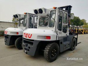 Xe nâng 7 tấn tại Bắc Giang